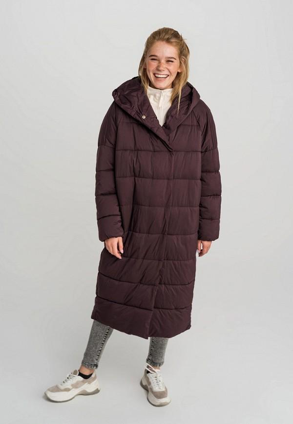 Фото - Куртку утепленная Befree бордового цвета