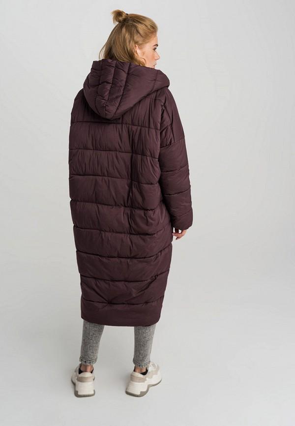 Фото 3 - Куртку утепленная Befree бордового цвета