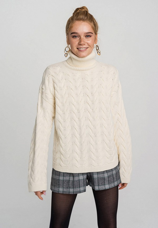 женский свитер befree, бежевый