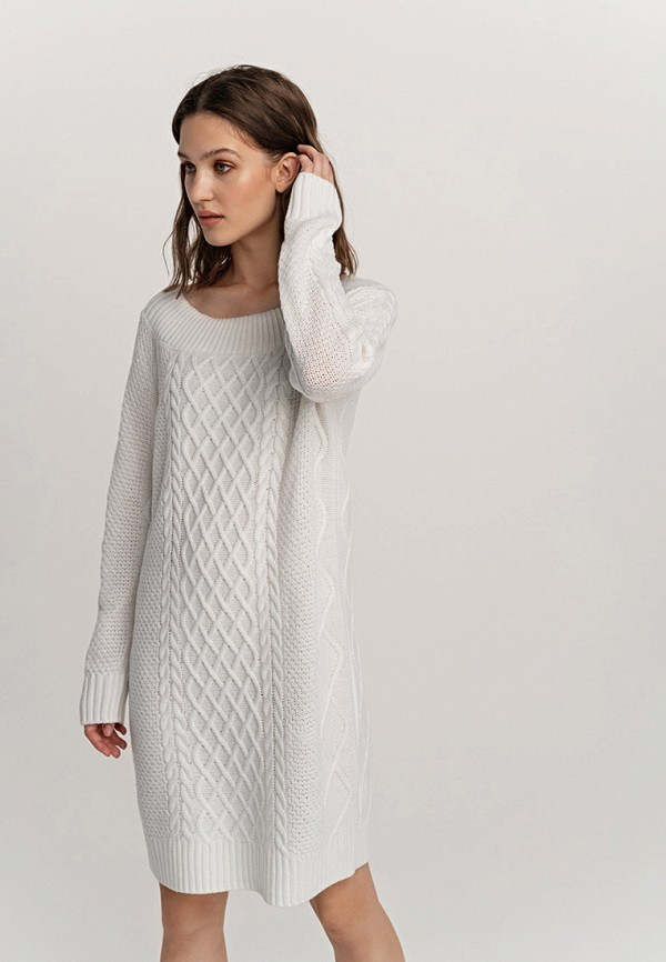 женское платье befree, белое