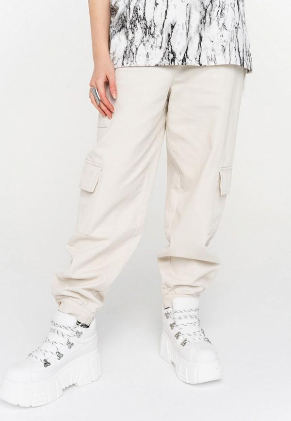 женские брюки befree, белые
