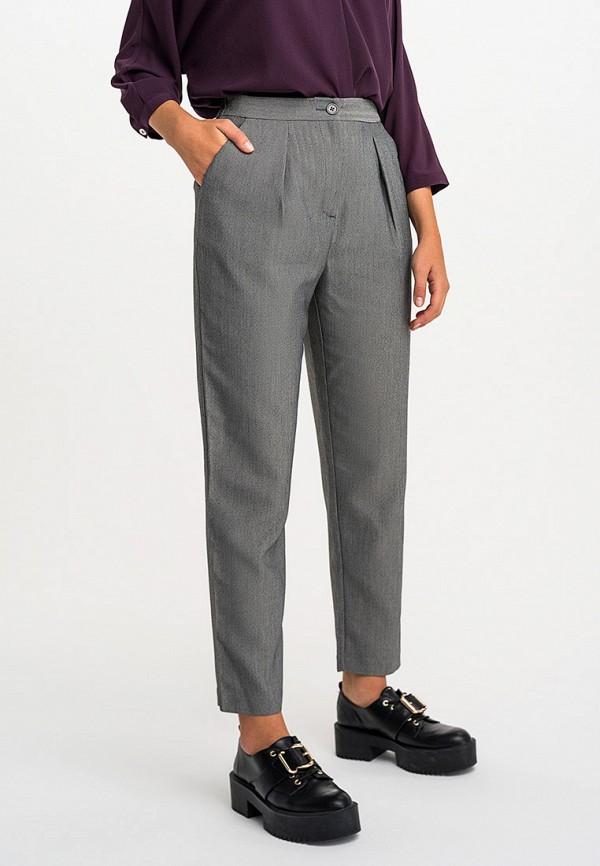 женские классические брюки befree, серые