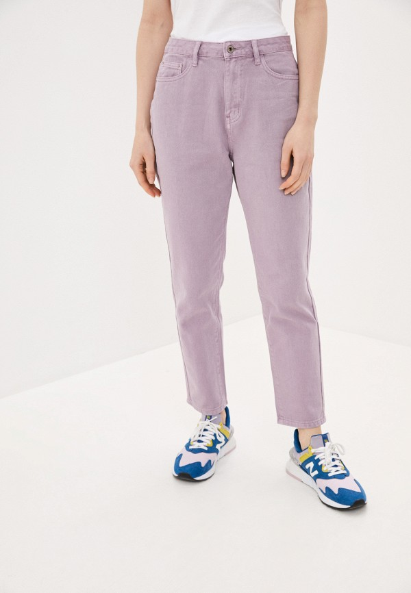 женские повседневные брюки befree, фиолетовые