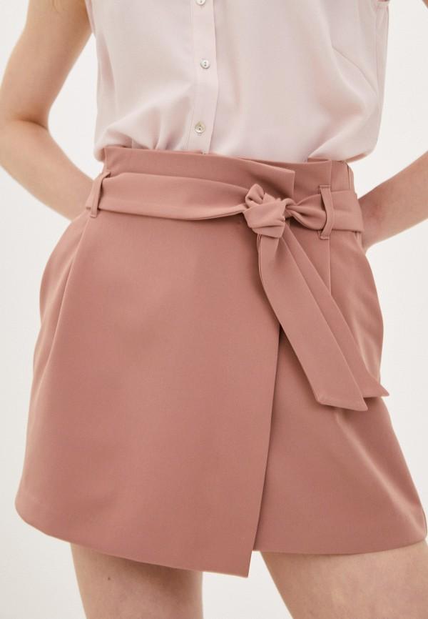 женская юбка befree, коричневая