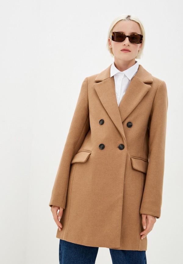 женское пальто befree, бежевое