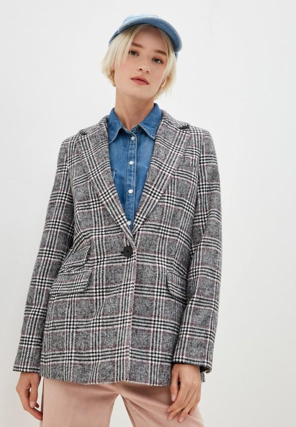женское пальто befree, серое