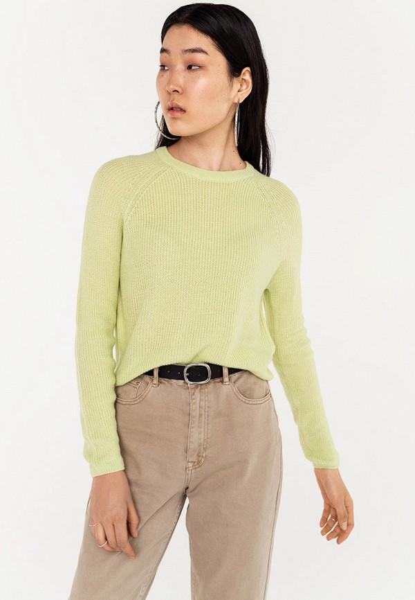 женский джемпер befree, зеленый