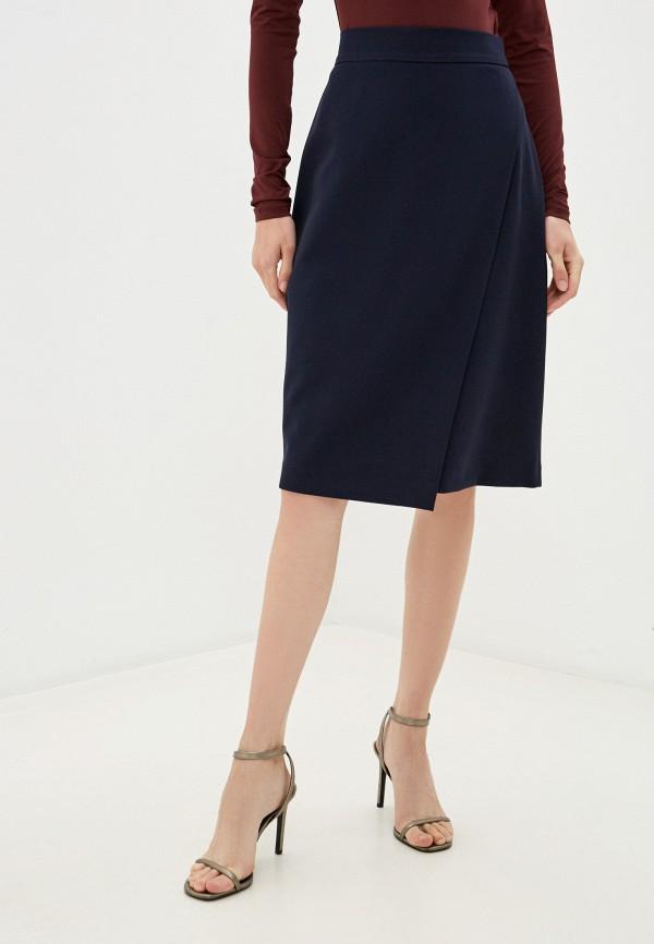 женская юбка befree, синяя