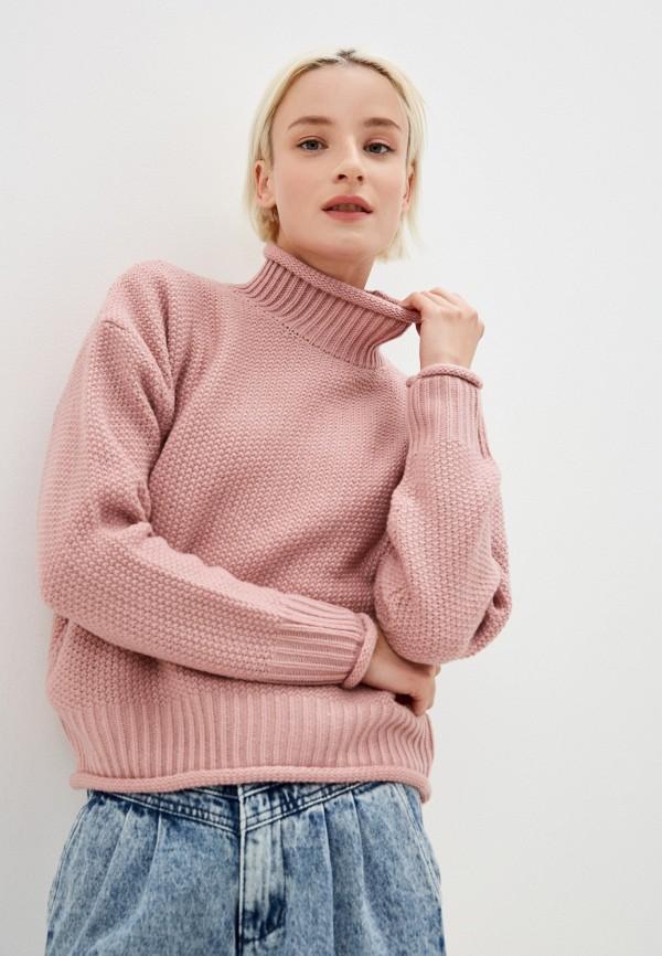 женский свитер befree, розовый
