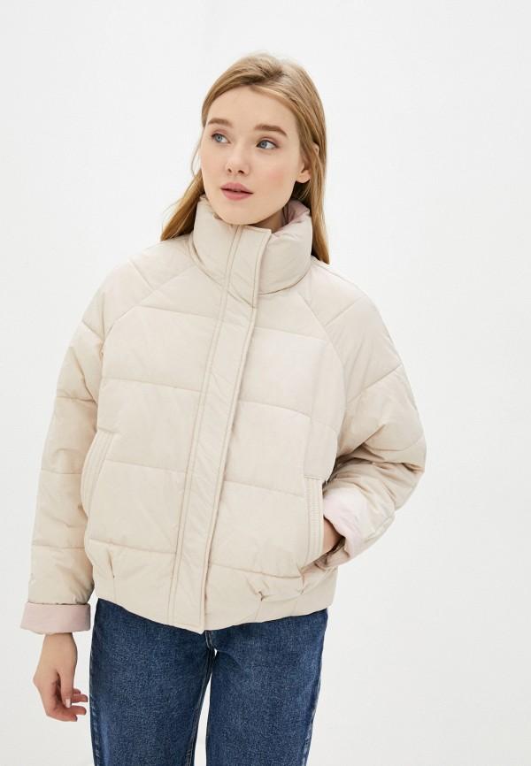 женская куртка befree, бежевая