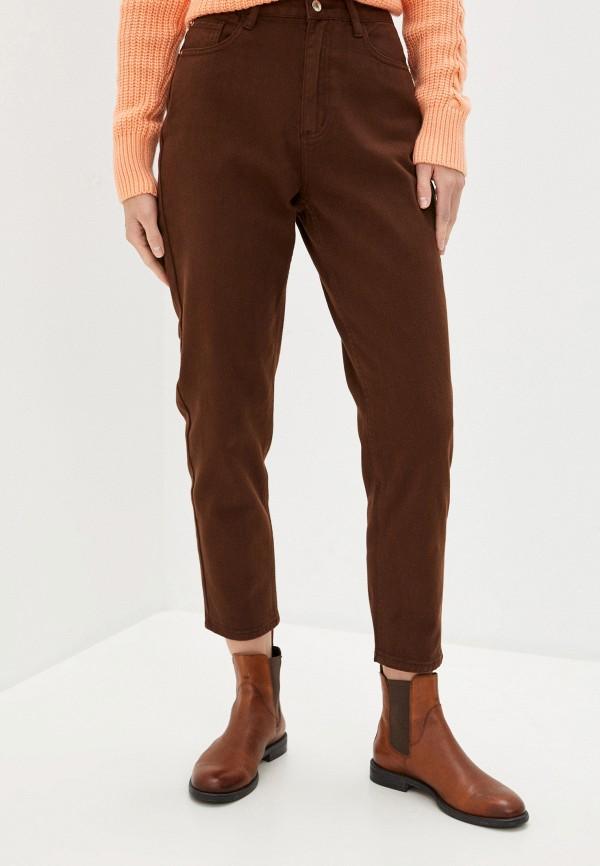 женские повседневные брюки befree, бордовые