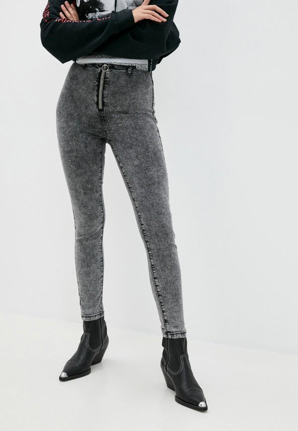 женские джинсы befree, серые
