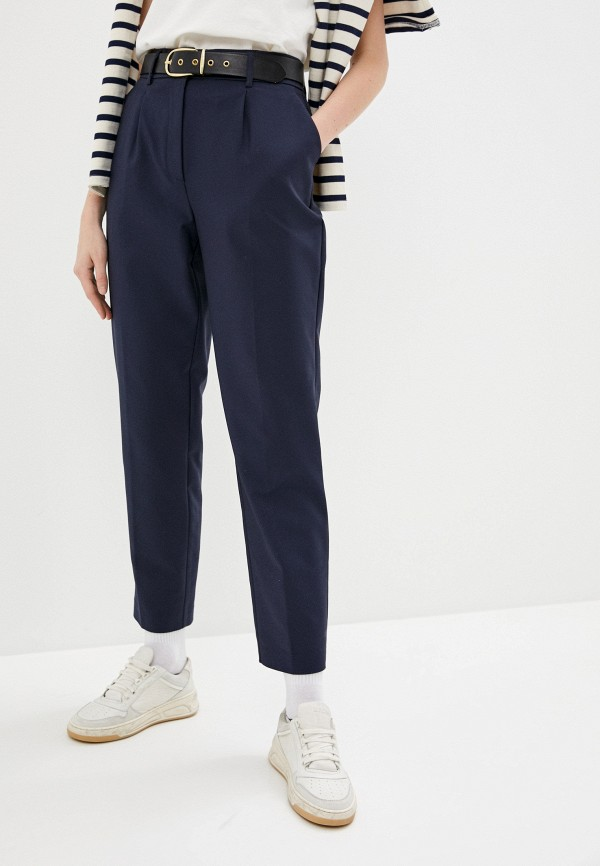 женские повседневные брюки befree, синие