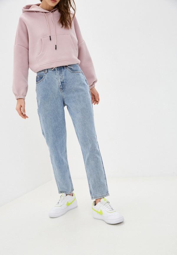 женские прямые джинсы befree, голубые
