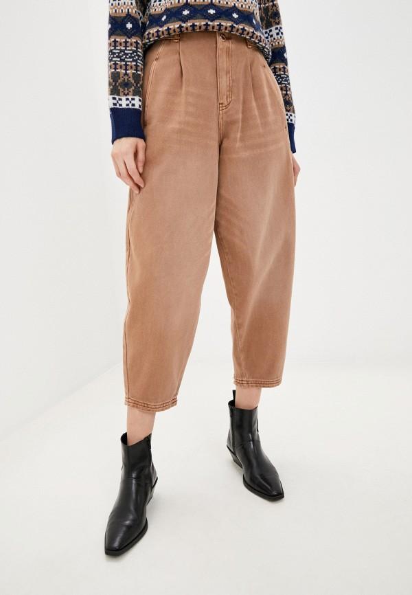 женские джинсы befree, бежевые