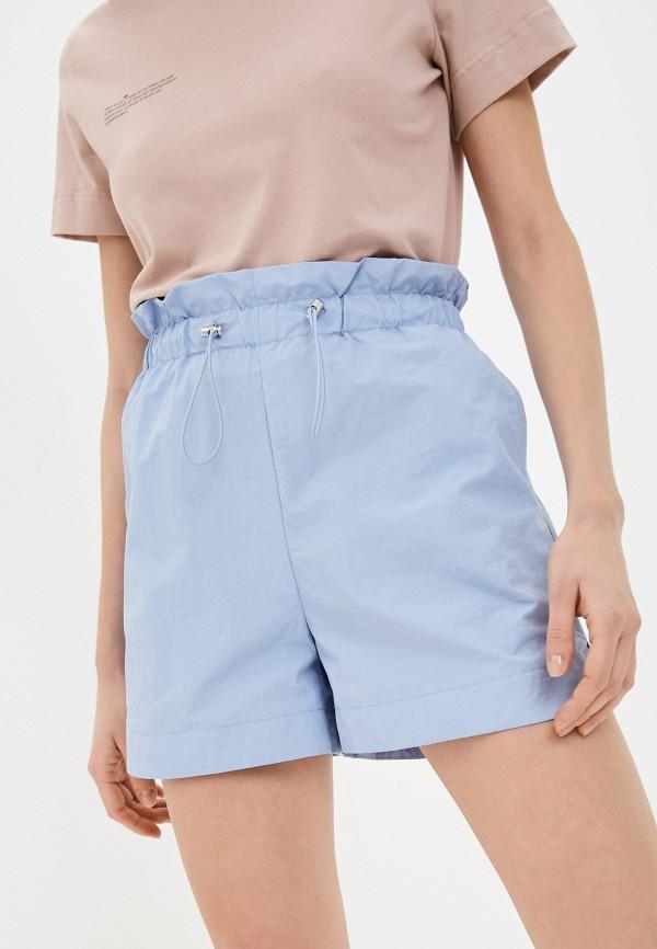 женские повседневные шорты befree, голубые