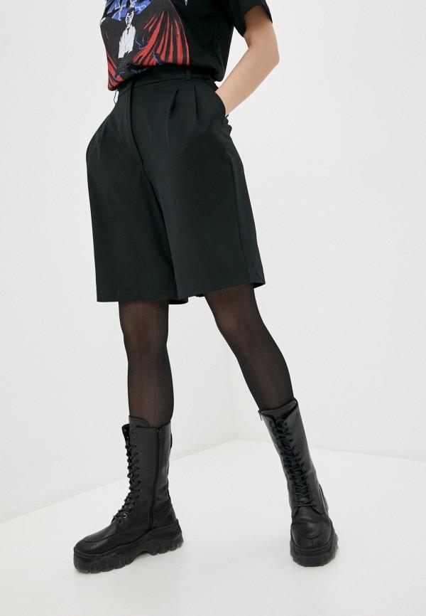 женские повседневные шорты befree, черные