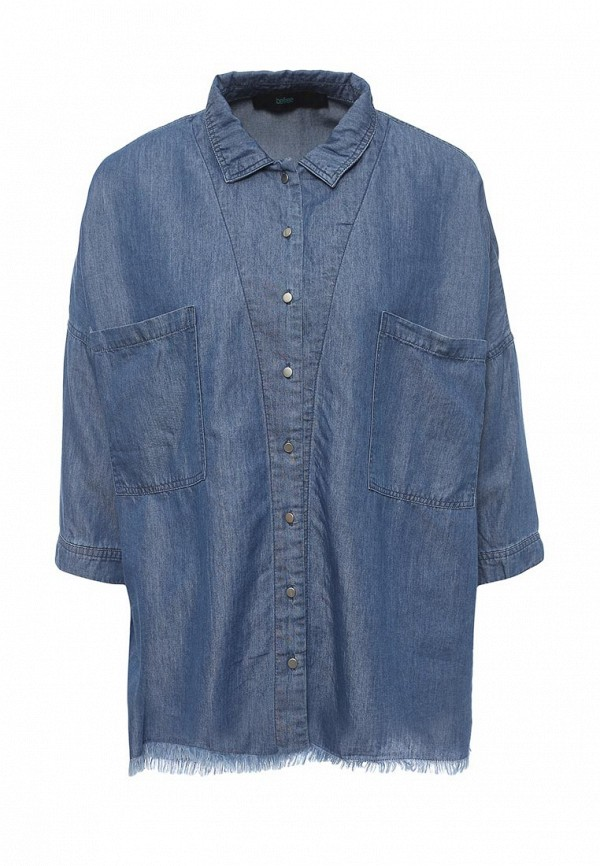 Рубашка джинсовая Befree Befree BE031EWPKA26 боди befree