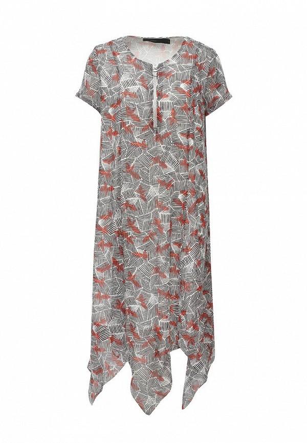 Купить Платье Befree, be031ewpkc75, серый, Весна-лето 2017