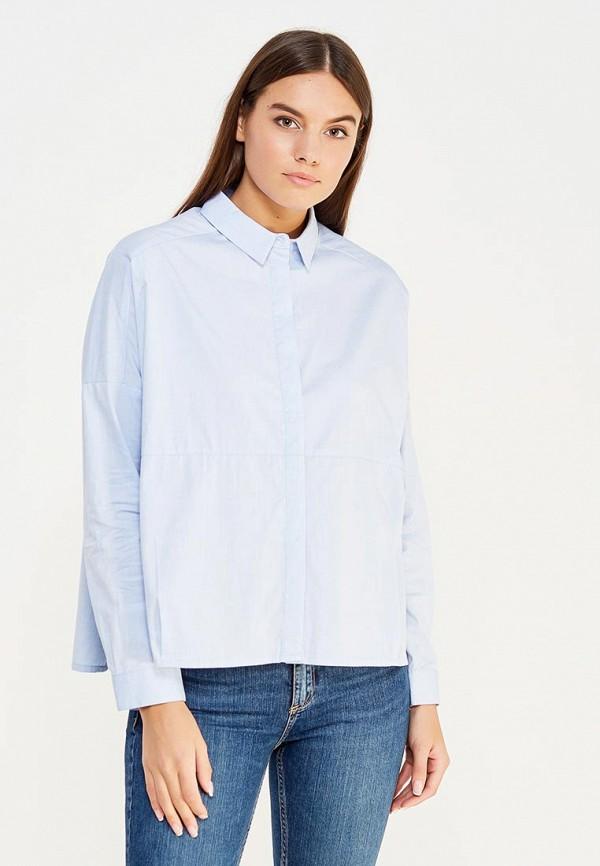 Купить Блуза Befree, be031ewuxu99, голубой, Осень-зима 2017/2018