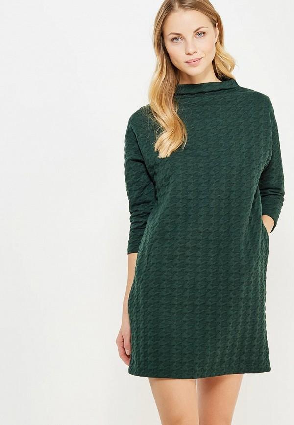 Купить Платье Befree, be031ewylt86, зеленый, Осень-зима 2017/2018