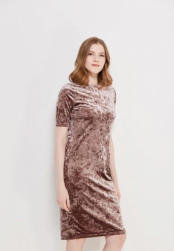 Купить Платье Befree, be031ewyme45, коричневый, Осень-зима 2017/2018