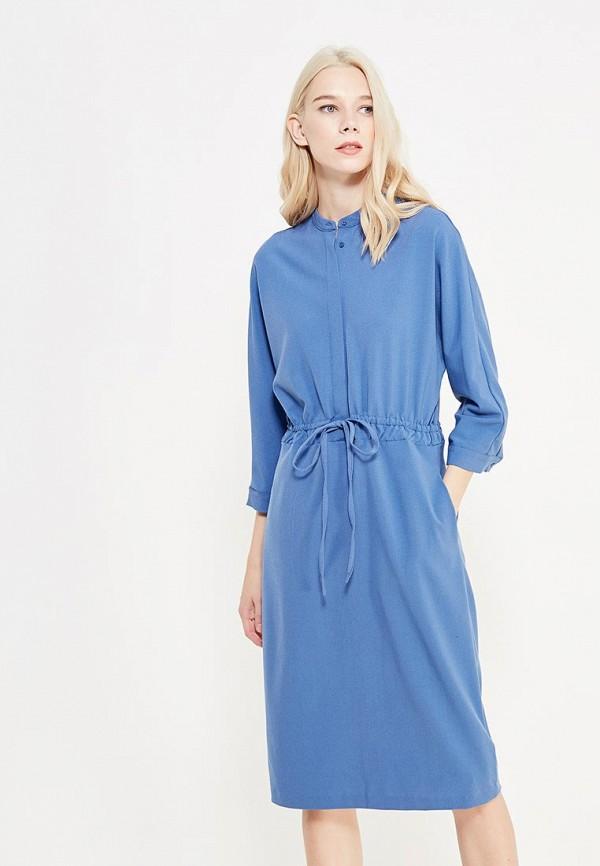 Купить Платье Befree, BE031EWYMF00, синий, Осень-зима 2017/2018
