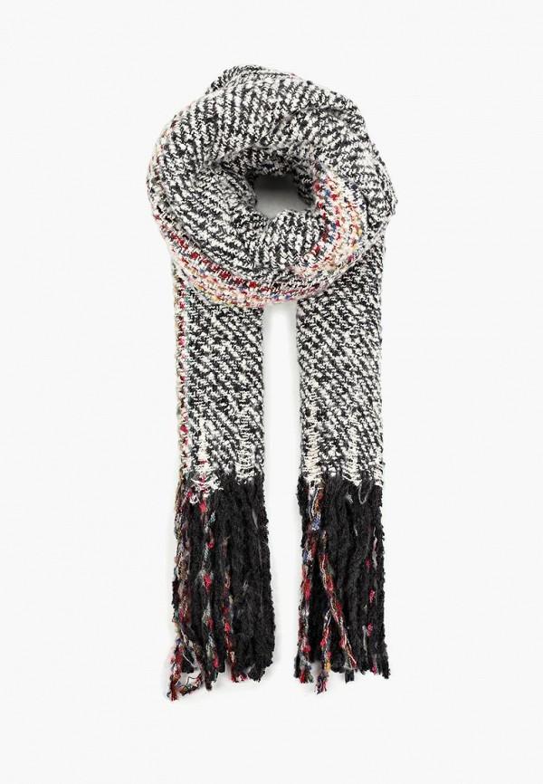 женский шарф befree, серый