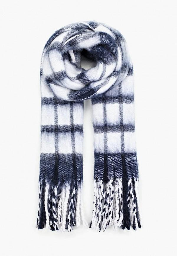женский шарф befree, синий