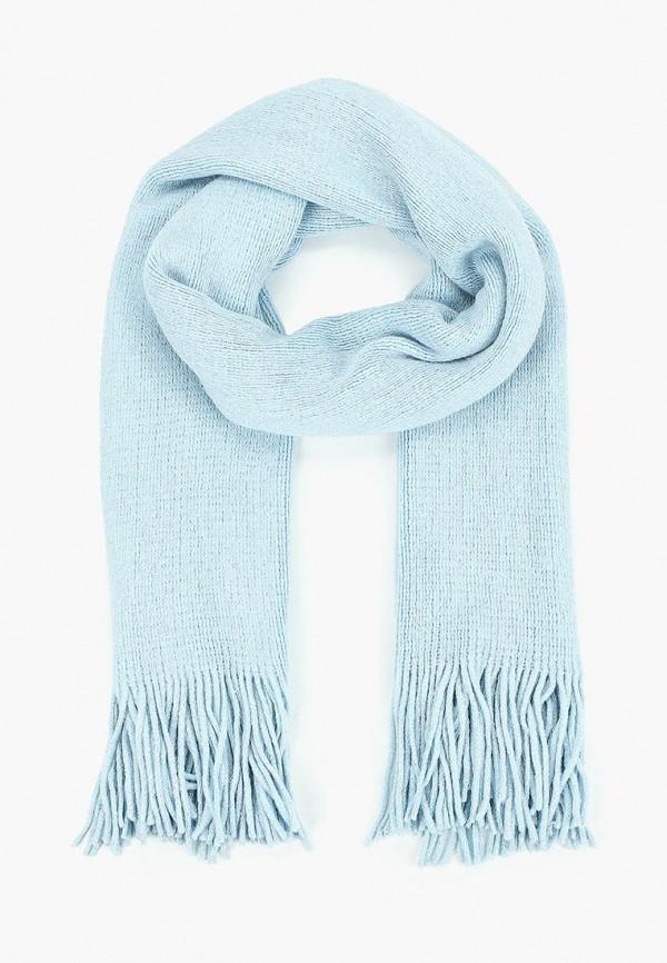 женский шарф befree, голубой