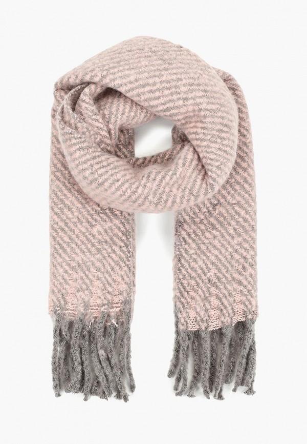 женский шарф befree, розовый