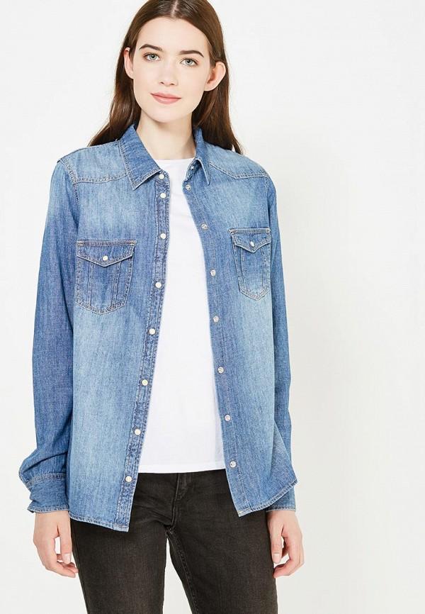 Рубашка джинсовая Bestia Bestia BE032EWUWT37 цена 2017