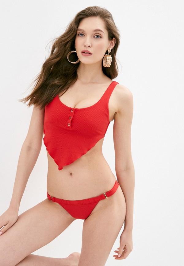женский лиф beach bunny, красный