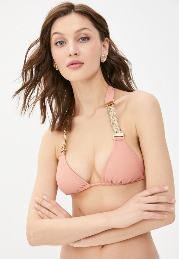 женский лиф beach bunny, розовый