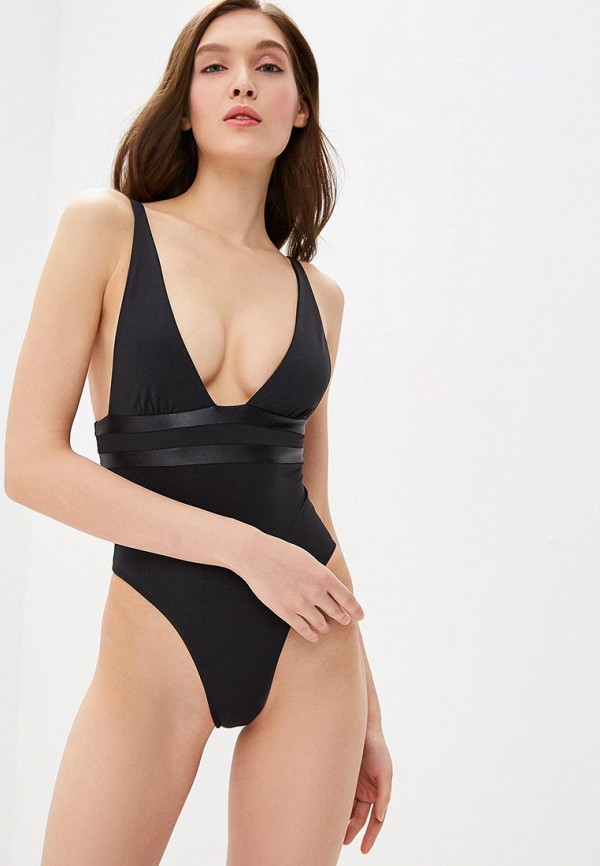 женский купальник beach bunny, черный