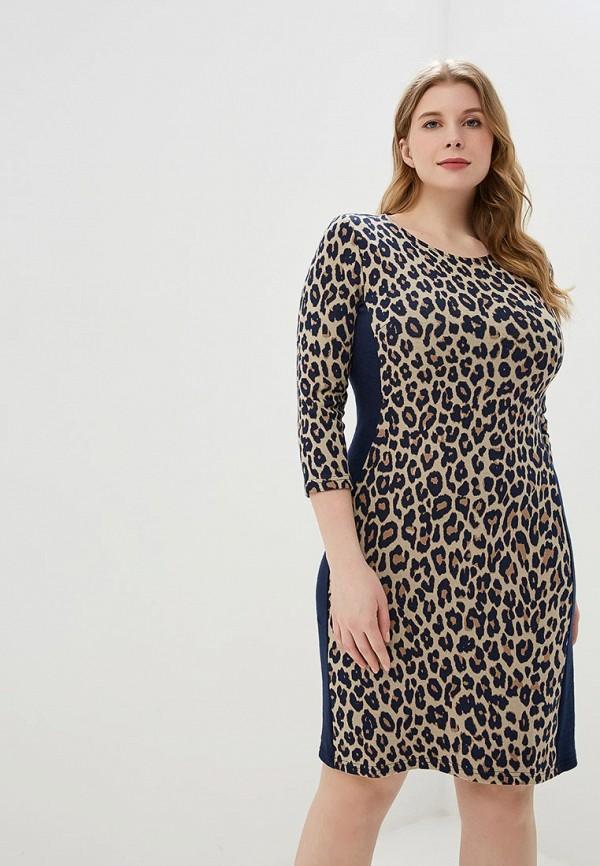 женское повседневные платье betty barclay, коричневое
