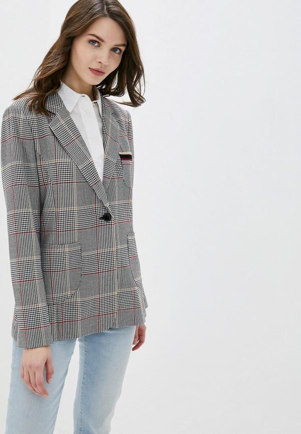 женский пиджак betty barclay, серый