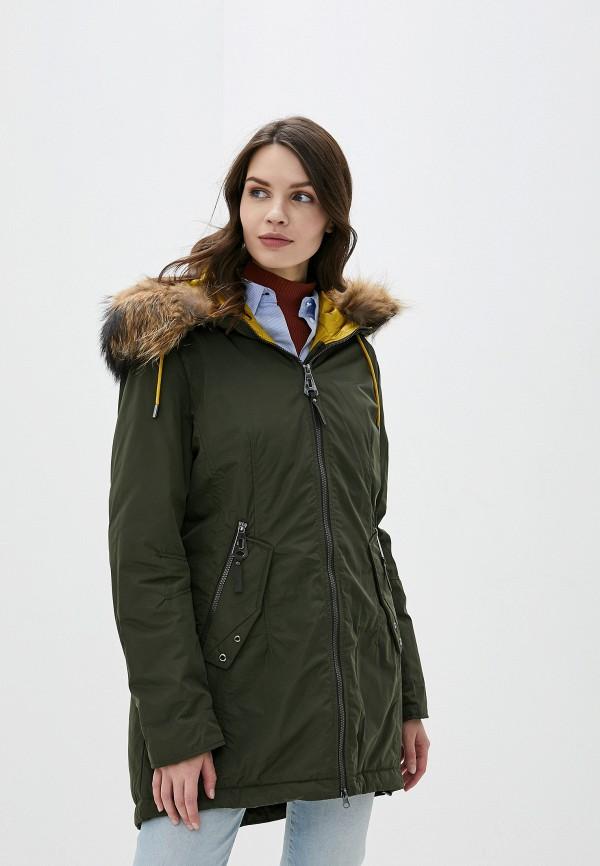 женская куртка betty barclay, хаки