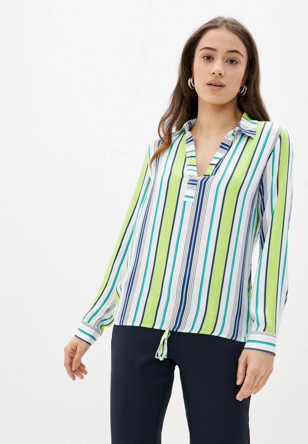 женская блузка с длинным рукавом betty barclay, разноцветная