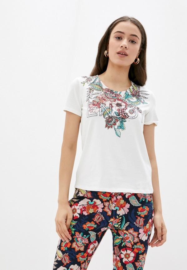 женская футболка betty barclay, бежевая