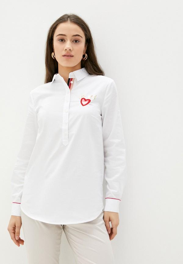 женская блузка betty barclay, белая