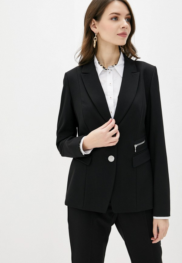 женский пиджак betty barclay, черный