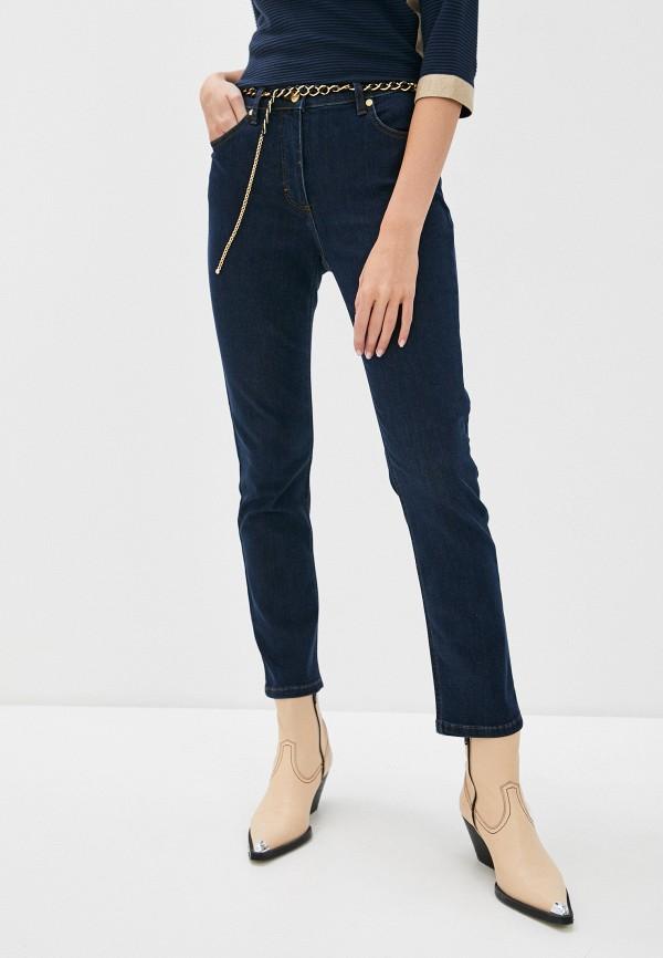 женские прямые джинсы betty barclay, синие