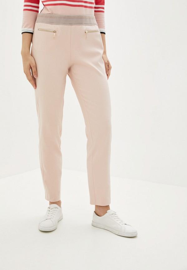 женские прямые брюки betty barclay, розовые