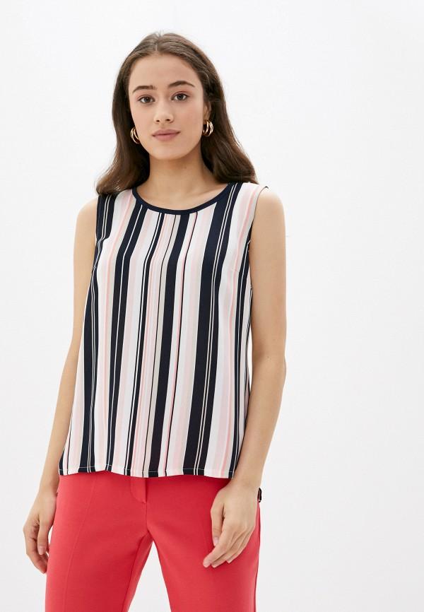 женская блузка без рукавов betty barclay, разноцветная