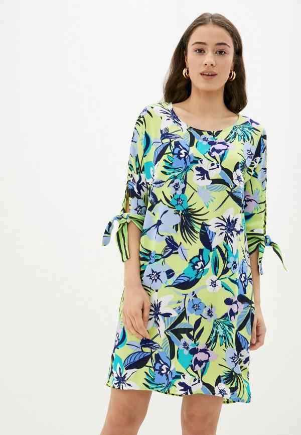 женское повседневные платье betty barclay, зеленое