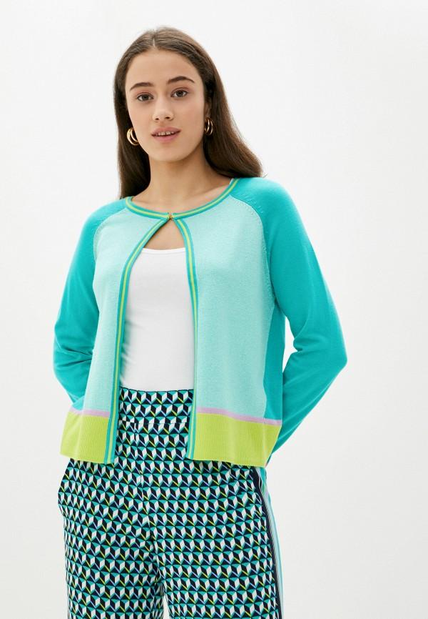 женский кардиган betty barclay, зеленый