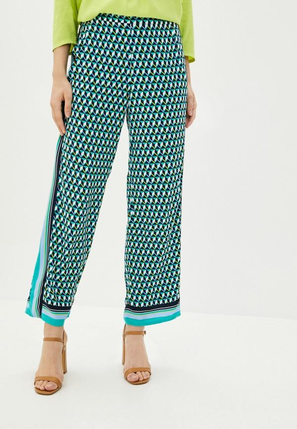 женские прямые брюки betty barclay, бирюзовые