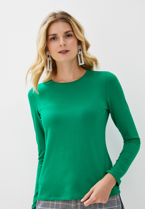 женский лонгслив betty barclay, зеленый