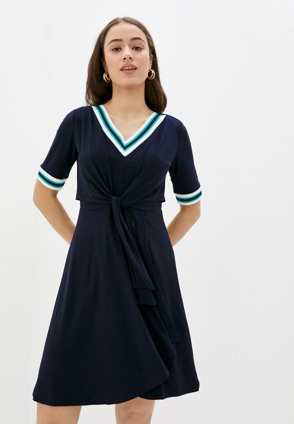 женское повседневные платье betty barclay, синее